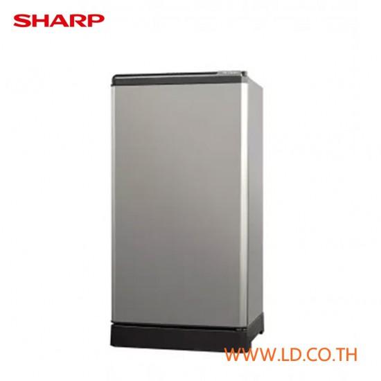 SHARP ตู้เย็น 1 ประตู 5.2 คิว รุ่น SJ-G15S-SL เย็นฉ่ำ สะดวกทุกการใช้งาน ระบบละลายน้ำแข็งกึ่งอัตโนมัติ สีเงิน