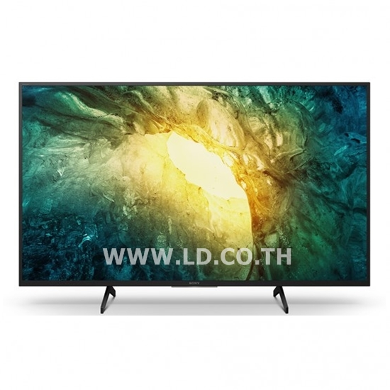 SONY 49 นิ้ว X75H | 4K Ultra HD | High Dynamic Range (HDR) | สมาร์ททีวี (Android TV) รุ่น KD-49X7500H