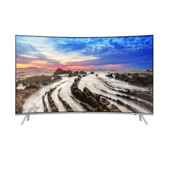 SAMSUNG 55 นิ้ว รุ่น UA55MU8000KXXT Premium UHD TV Curved MU8000 Series 8 UA55MU8000K