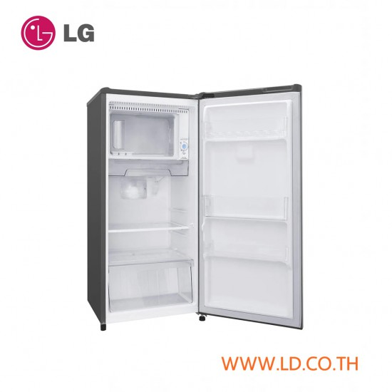 LG ตู้เย็น 1 ประตู ระบบ Smart Inverter ความจุ 6.1 คิว รุ่น GN-Y201CLBB