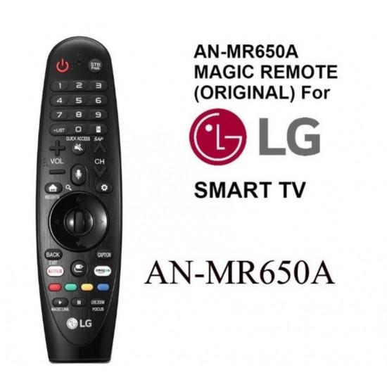 LG MAGIC REMOTE รุ่น AN-MR650A (สำหรับใช้กับทีวี LG Series ทีวีปี2017)